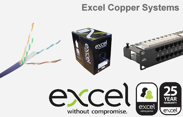 Excel Structured cabling products we install